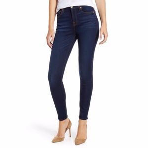 7FAMK 7 For All Mankind The Skinny Dark Jeans